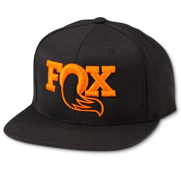 Heritage Snapback Hat - black