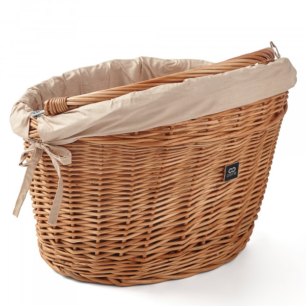 Wicked Basket Big Fahrradkorb Natural