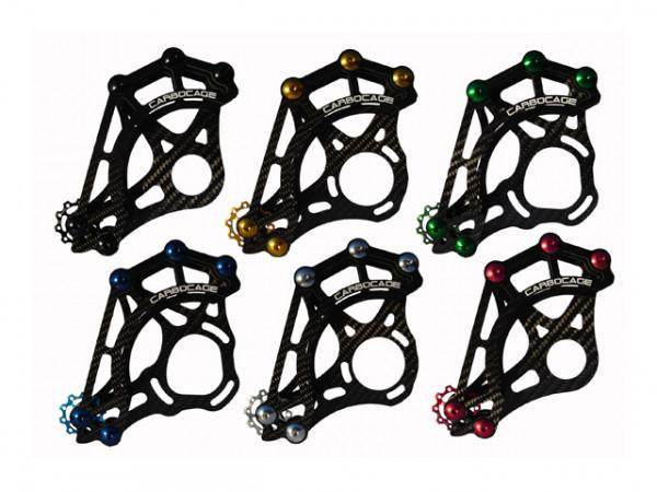 Ultralight Chainguide Carbon 4X Tretlagerbefestigung