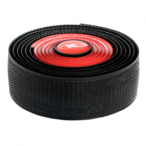DSP DuraSoft Polymer Dual Lenkerband - 2,5mm - Rot/Schwarz