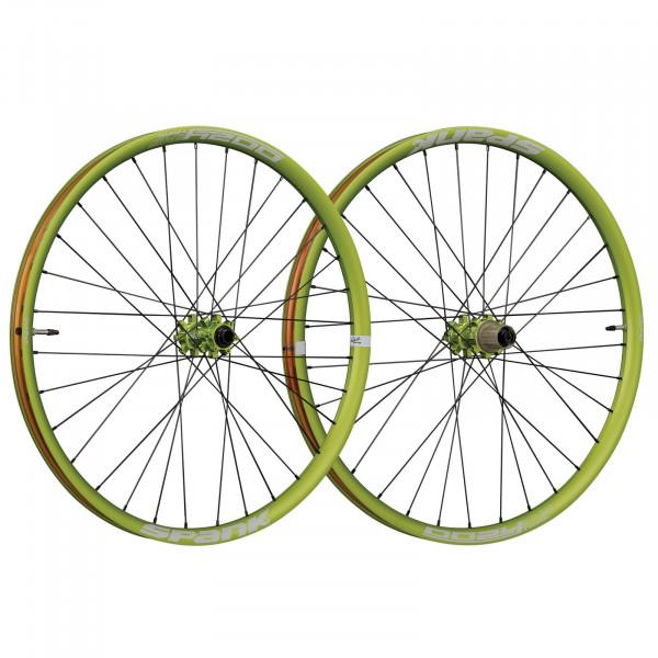 Oozy Trail 345 Laufradsatz 27,5 Zoll - emerald green