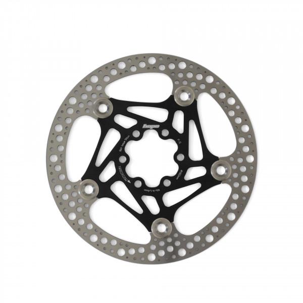 Road Rotor 160mm Bremsscheibe - schwarz