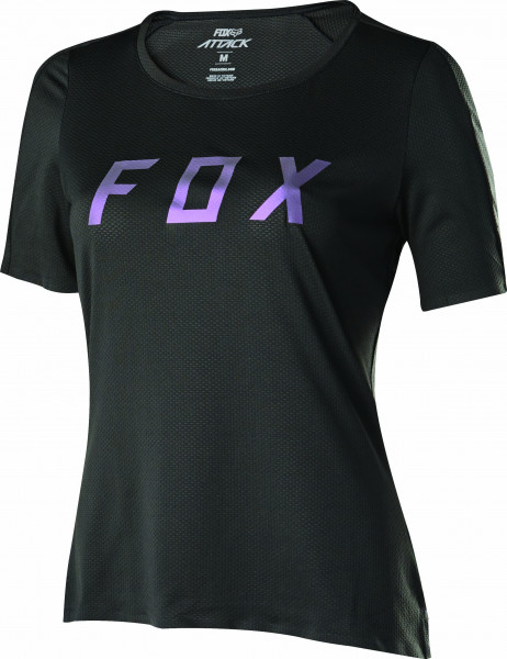 Womens Attack Jersey - Black