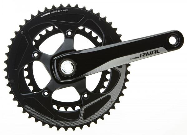 Kurbelsatz Rival 22-BB30-172,5mm-schwarz