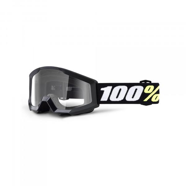 Strata Mini Goggle Anti Fog Clear Lense für Kinder - schwarz