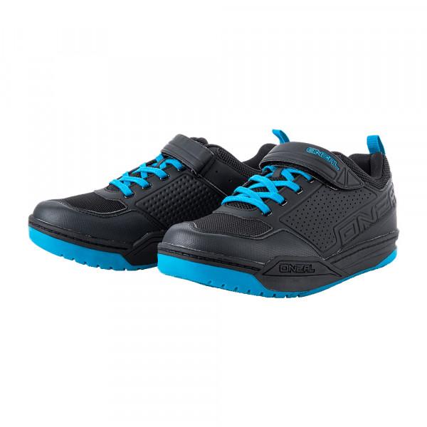 Flow SPD Schuh - black/blue