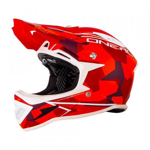 Warp Fidlock Helm Edgy Camo - Red
