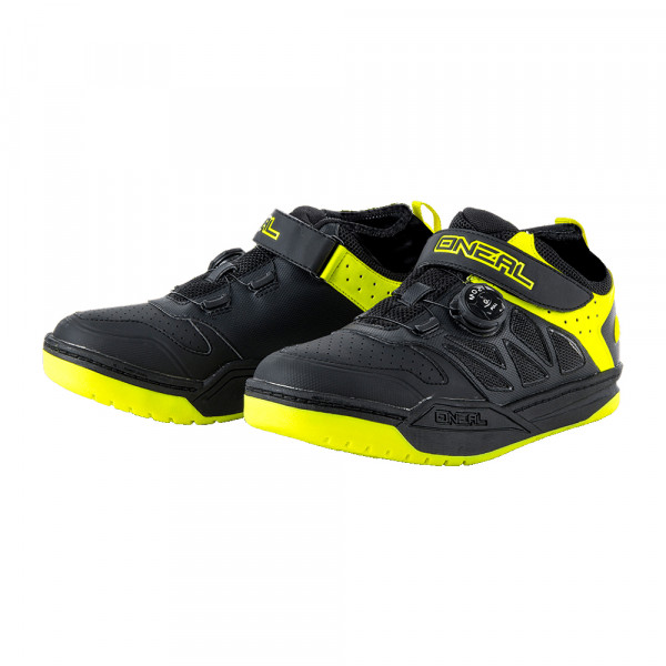 Session SPD Schuh - black/neon yellow