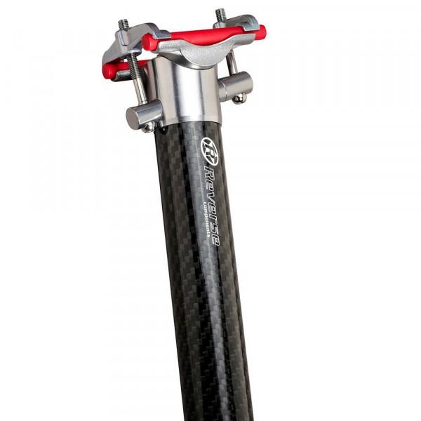 XC Carbon/Alloy Sattelstütze 400mm - 31.6 / 30.9mm