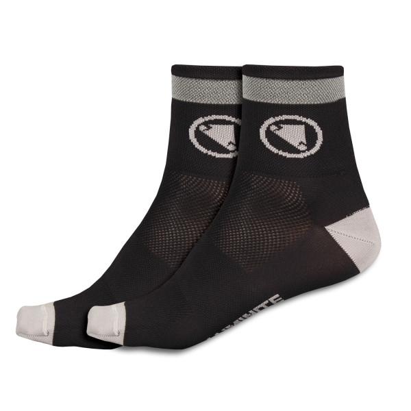 Luminite Socken Doppelpack - Schwarz