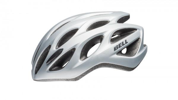 Tracker R Fahrradhelm - matte silver/titanium