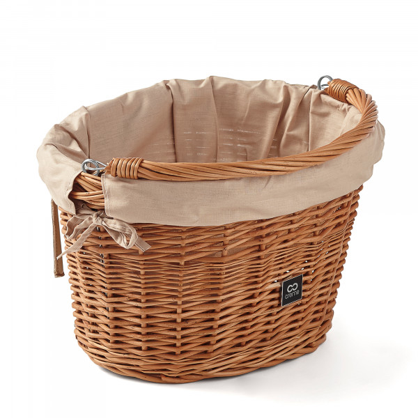 Wicked Basket Small Fahrradkorb Natural