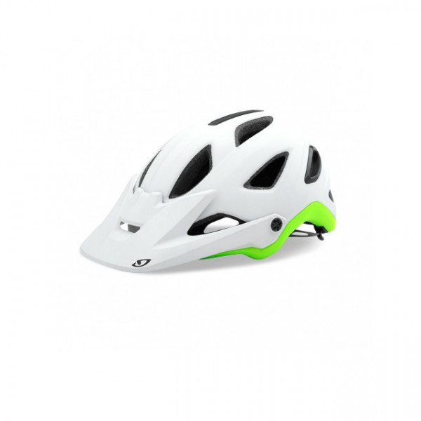 Montaro Mips Helm - matte white lime