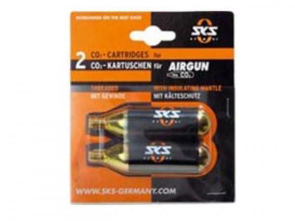 Airgun CO2 Ersatzkartuschen Doppelpack 16g - Airgun