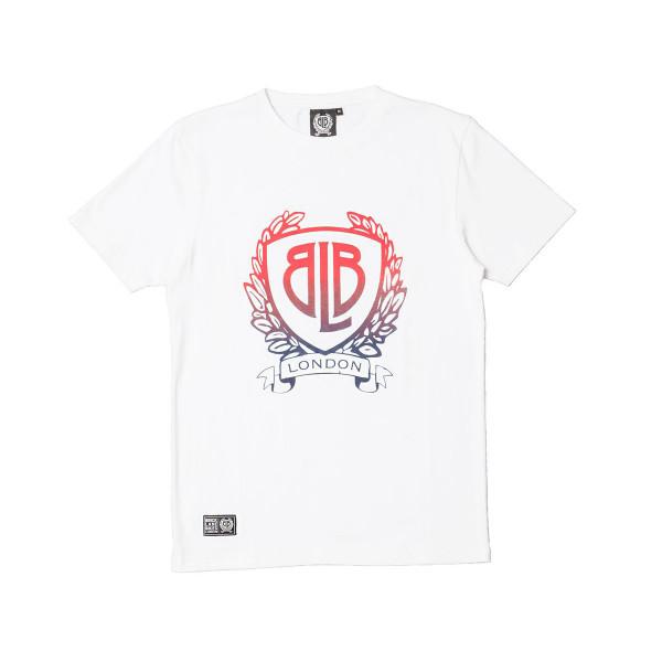 Gradient Logo T-Shirt - weiß
