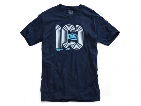 Hairpin T-Shirt - blau