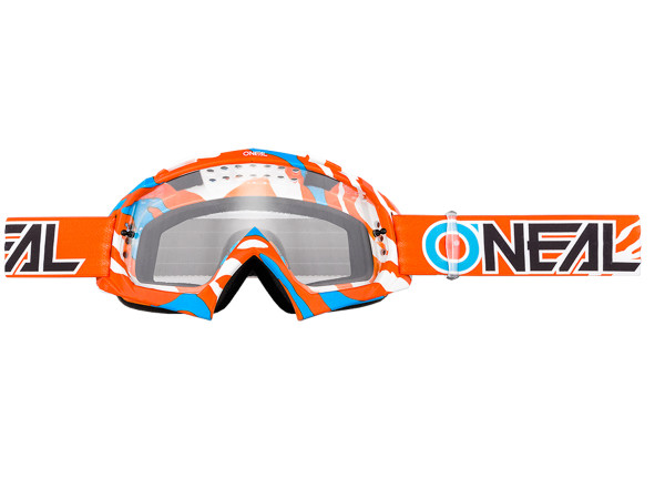 B10 Stream Goggle - orange - Lens clear
