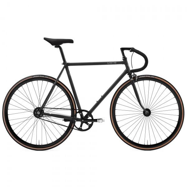 Vinyl Solo Singlespeed Fixed Bike 2017 - black
