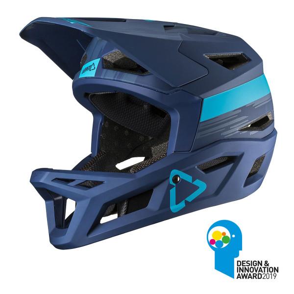 Full Face Helm DBX 4.0 Super Ventilated - Blau