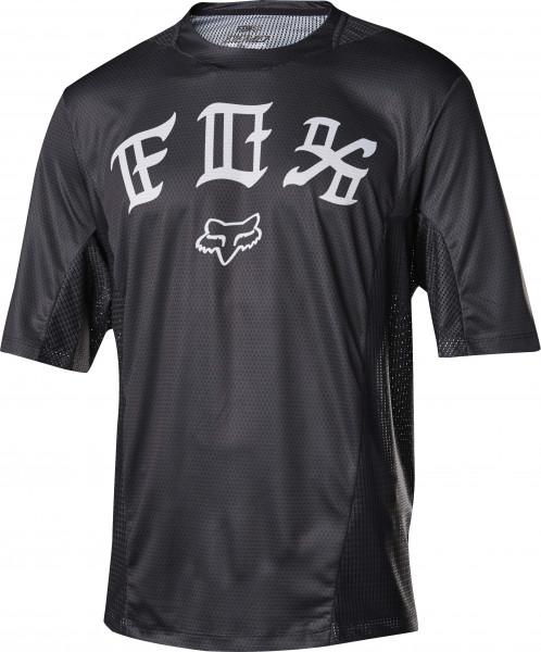 Demo DH Jersey - FLS Black White