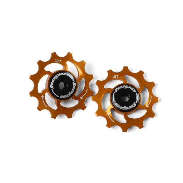 Jockey Wheels Schaltrollen - 12Z - orange
