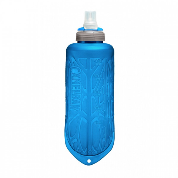 Quick Stow Flask Trinkflasche 500 ml - blau