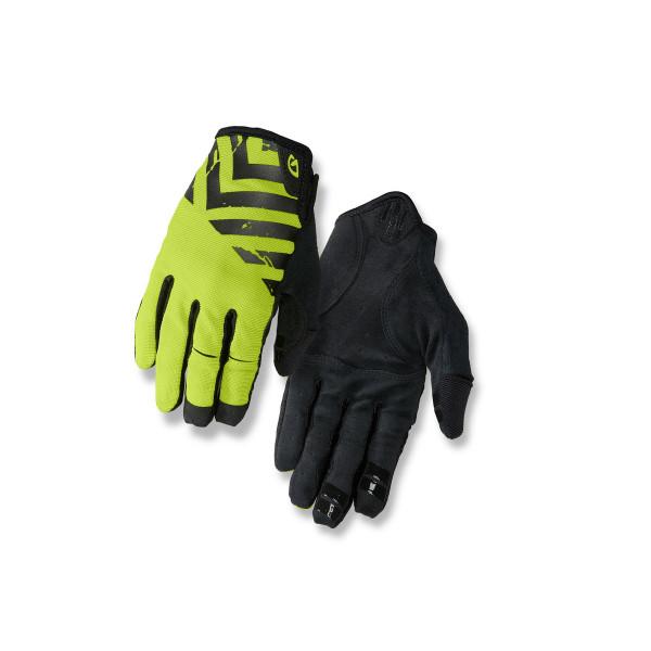 DND Handschuhe - black/lime