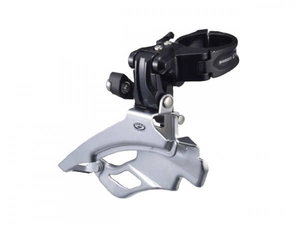 Deore FD-M591 3-fach Umwerfer Down-Swing - schwarz