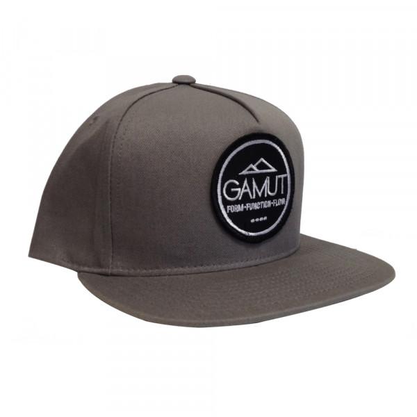 Snap Back Cap - grau