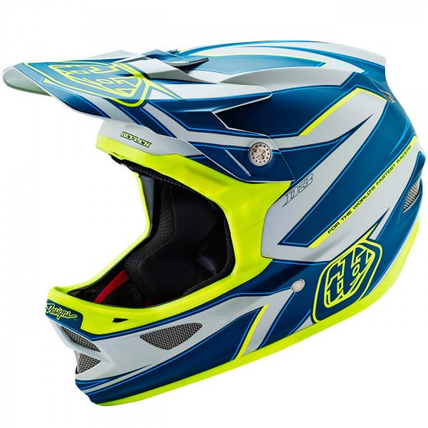 D3 Fullface Helm Reflex Gray/Yellow