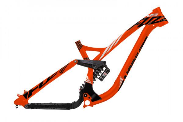 Fuzz 650B DH Rahmen mit Vivid R2C - fluo orange