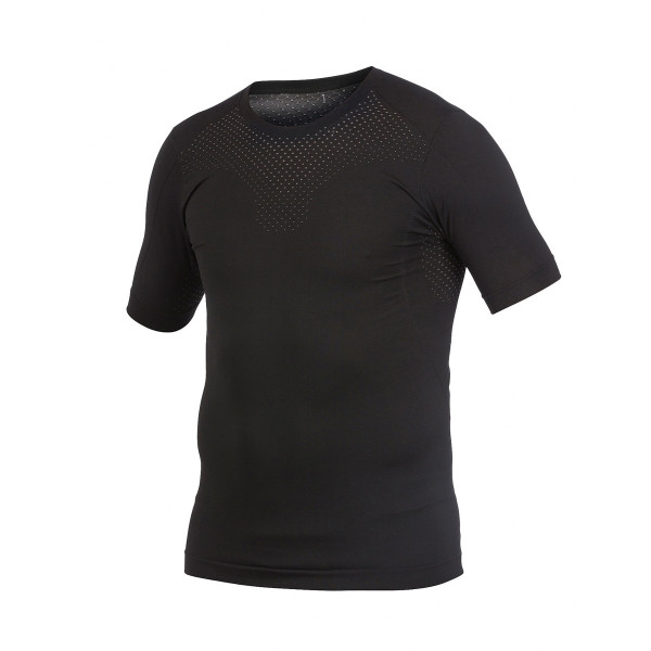 Stay Cool Seamless Shortsleeve schwarz