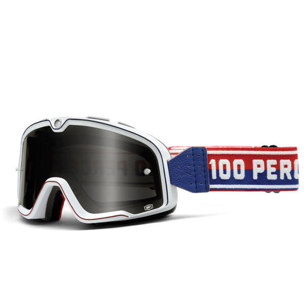 The Barstow Classic Goggle - White Smoke Lens