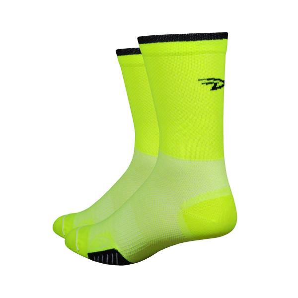 Cyclismo Socken - Thermocool - Gelb/Schwarz