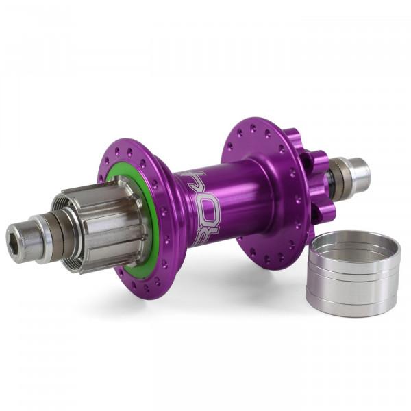 Pro 4 Trial/Singlespeed Hinterradnabe purple 32 Loch - 135 mm Bolt In