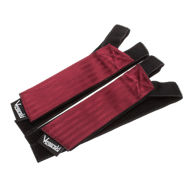 Freestyle Pedal Straps - dark red