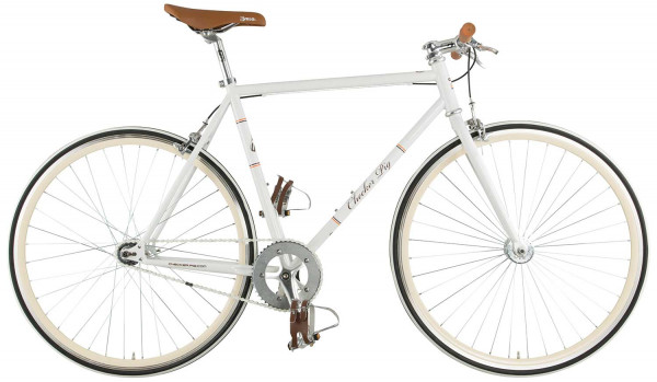 Track-LDT 1 Singlespeed Fixed Bike - weiss