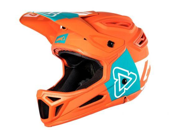 Helm DBX 5.0 Composite 2018 - orange / teal