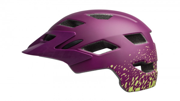 Sidetrack Helm - Kids - matte/gloss plum pear