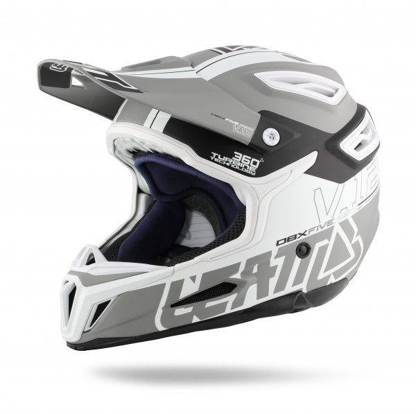 DBX 5.0 Composite Fullface Helm Grey/Black