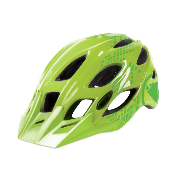 Singletrack II Helm - Neongrün