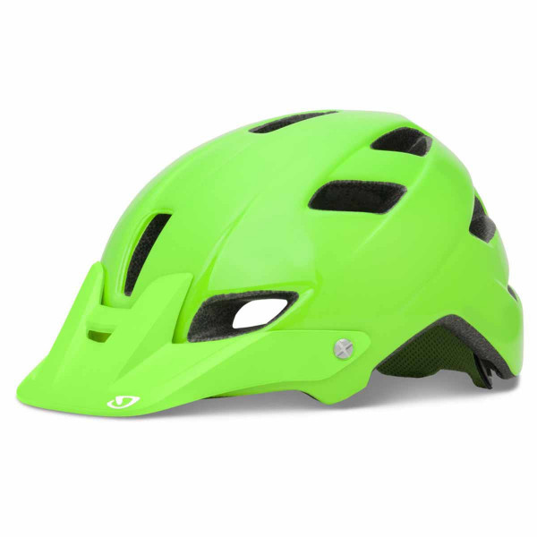 Feature Helm - bright green