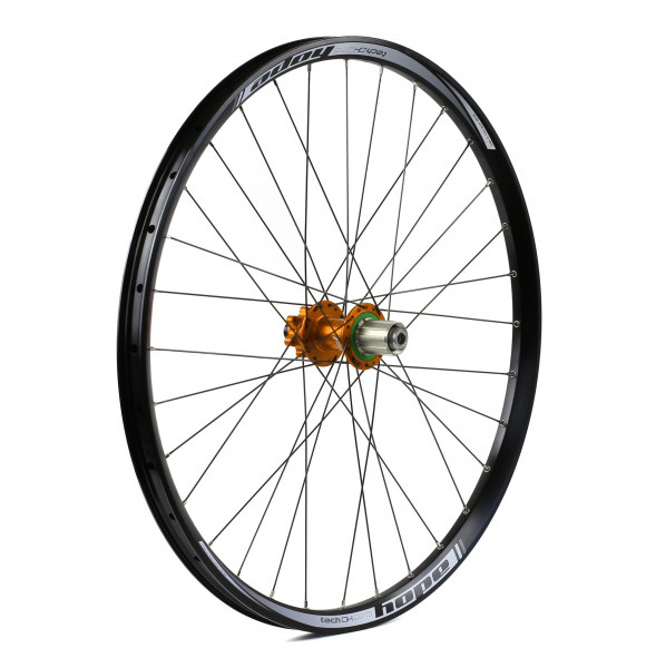 hope tech dh pro 4 hinterrad 150mm orange online kaufen bmo bike mailorder. Black Bedroom Furniture Sets. Home Design Ideas