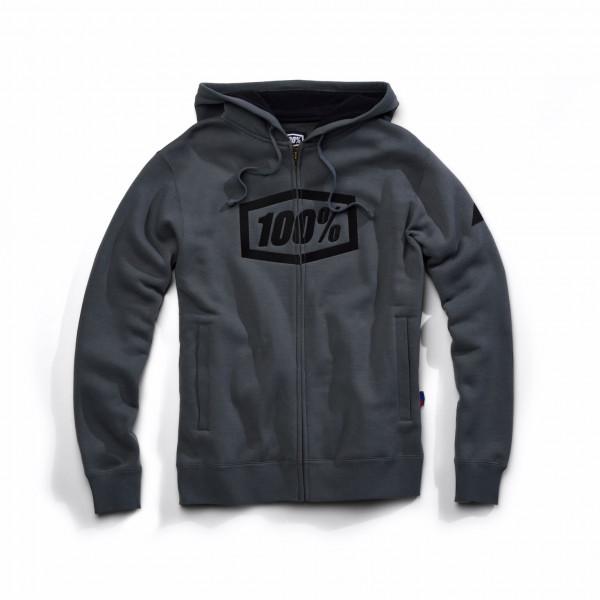 Syndicate Full-Zip Hoody - Steel Grey