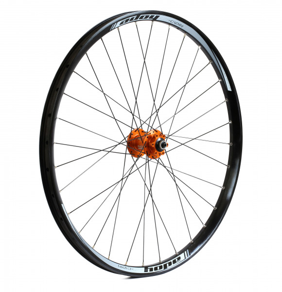 hope tech dh pro 4 vorderrad orange online kaufen bmo bike mailorder. Black Bedroom Furniture Sets. Home Design Ideas