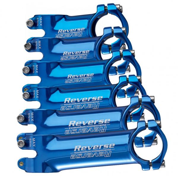 XC Alloy Vorbau 6 Grad 31.8mm - blau