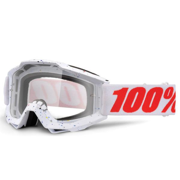 Accuri MX Goggle - Skylar White Clear Lens