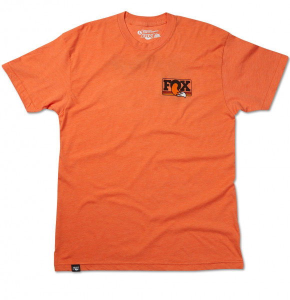 Men's Heritage Crew Neck T-Shirt - heather orange
