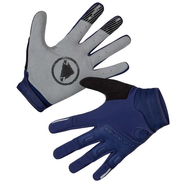SingleTrack Windproof Handschuhe - Marineblau