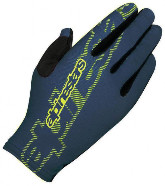 F-Lite Handschuh - black/acid yellow